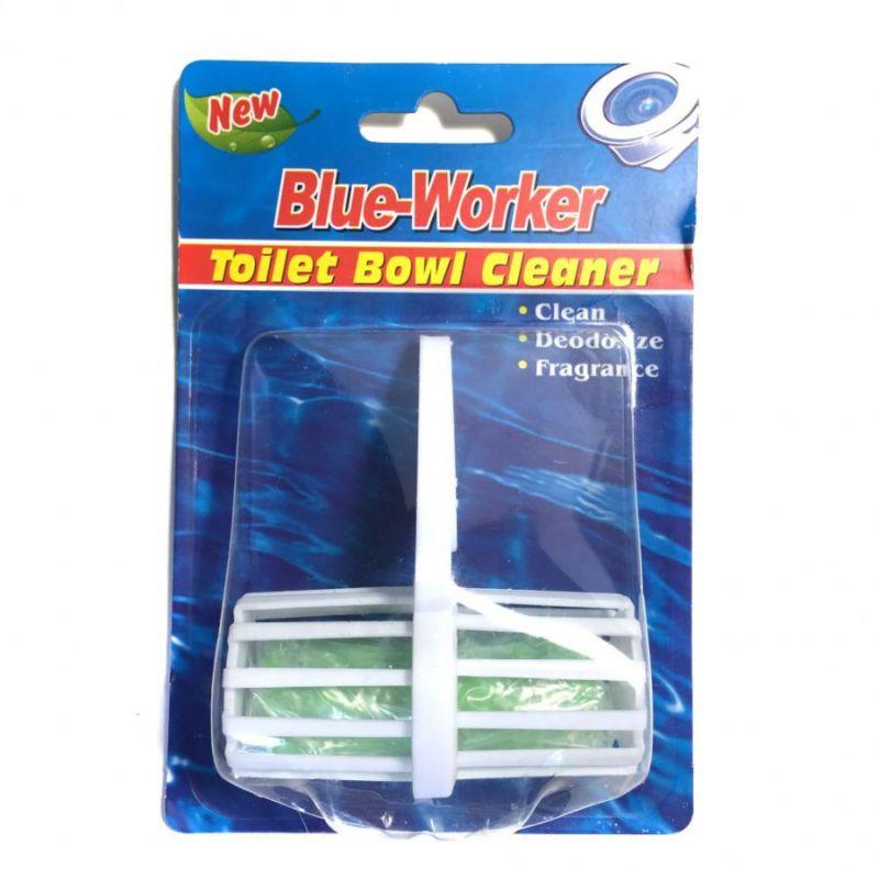 Гигиенический блок для унитаза Blue Worker, 1 шт, цвет зеленый