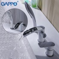 Gappo G1148-8 Noar смеситель врезной водопад