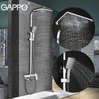 Gappo G2407-8 Душевая Система Белый/Хром
