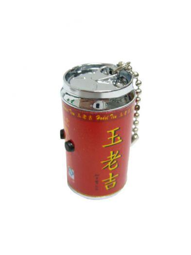 Брелок фонарик Следопыт SL-821 банка 2л+лазер в наборе 12шт