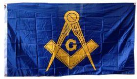Масонский флаг 150х90 см