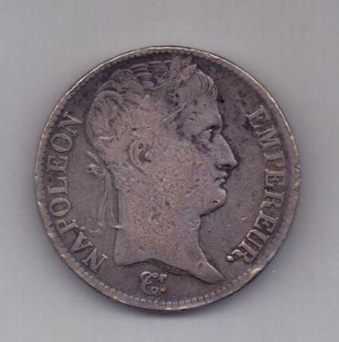 5 франков 1811 года D Наполеон I Бонапарт Франция
