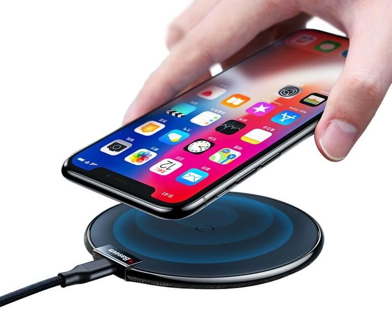 Беспроводное зарядное устройство Baseus для iPhone 8, 8Plus, X, XS, XS Max, XR