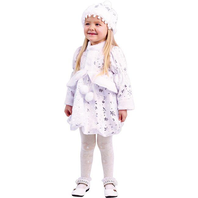 Костюм карнавальный Малышка Снегурочка