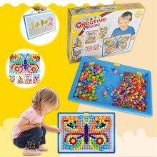 Творческая детская мозаика, 296 деталей.