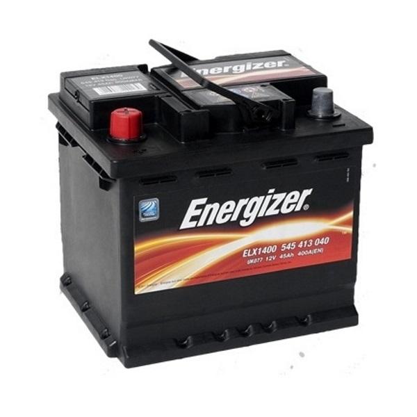 Автомобильный аккумулятор АКБ Energizer (Энерджайзер) EL1X400 545 413 040 45Ач п.п.