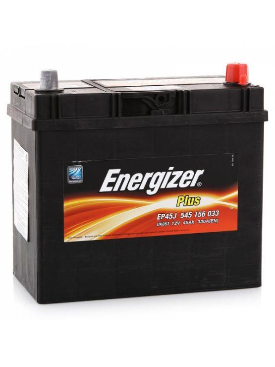 Автомобильный аккумулятор АКБ Energizer (Энерджайзер) PLUS EP45J 545 156 033 45Ач о.п.