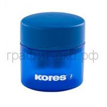 Точилка Kores с контейнером 2 отверстия 35800