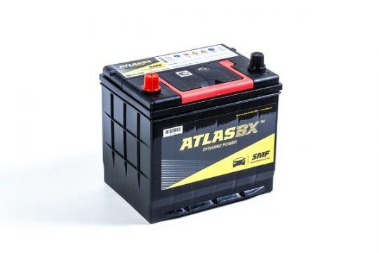 Автомобильный аккумулятор АКБ ATLAS (Атлас) 100RC MF25-550 60Ач п.п. нижнее крепление