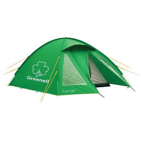 Палатка  NovaTour  Керри 3 v.3 Зеленая