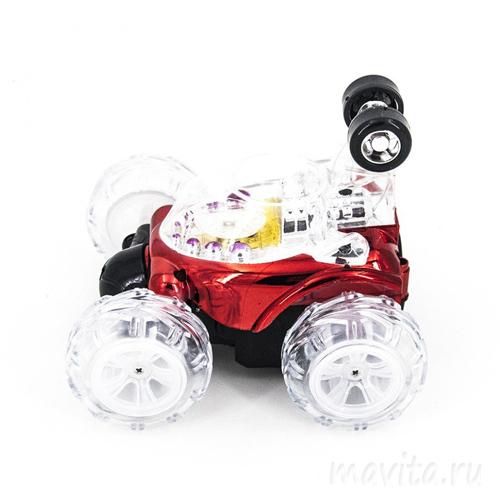 Машинка-перевертыш радиоуправляемая Dasher, Цвет Красный
