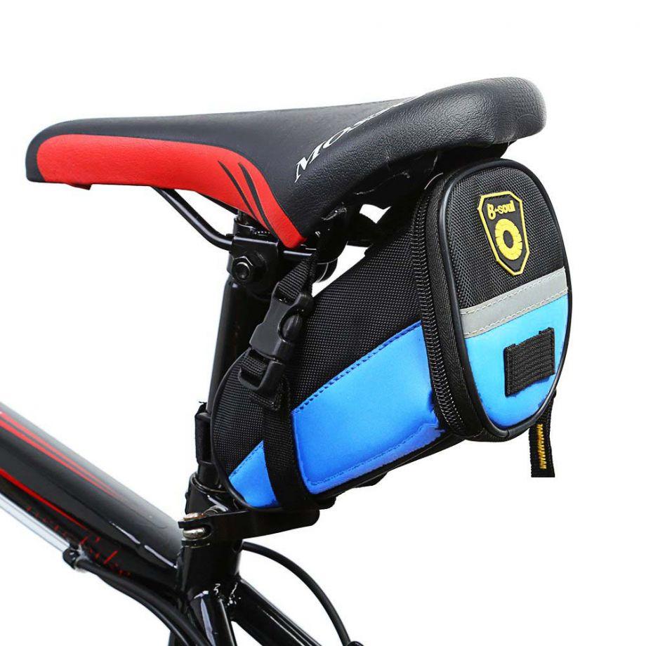 Велосипедная Сумка Под Сиденье B-Soul, Цвет Голубой