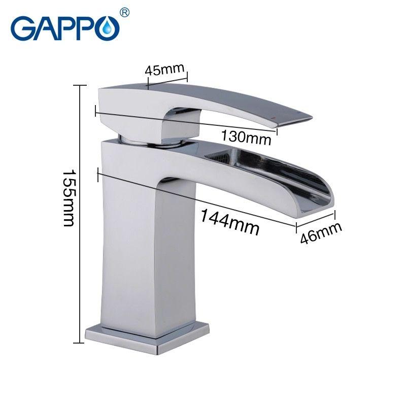 Gappo Jacob G1007-20 Смеситель для раковины