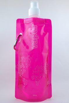 Складная бутылка для воды  VAPUR Розовый