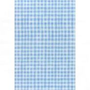 Бумага для декупажа DECOPATCH 30х40 / Голубая клетка (арт. C-FDA 2790)
