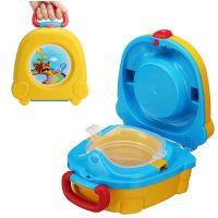 Портативный складной детский горшок-чемоданчик The Handy Potty, цвет желтый (1)