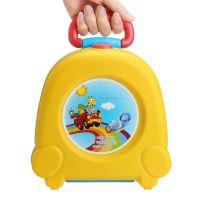 Портативный складной детский горшок-чемоданчик The Handy Potty, цвет желтый (3)