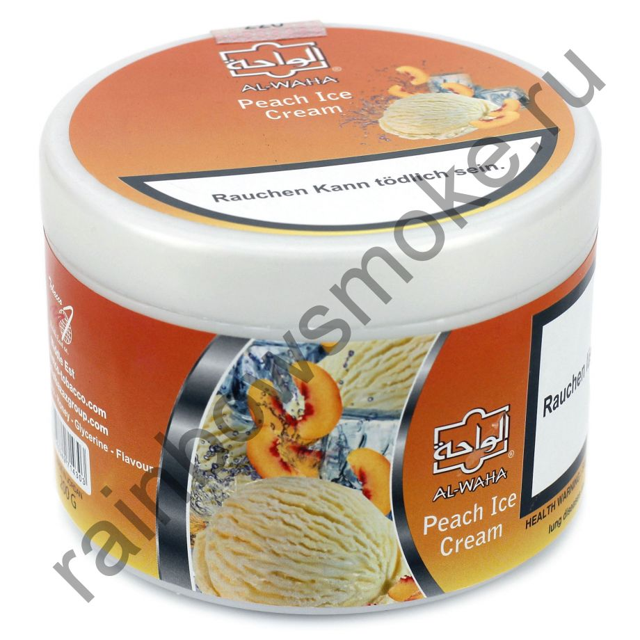 Al Waha 250 гр - Peach Ice Cream (Персиковое Мороженое)