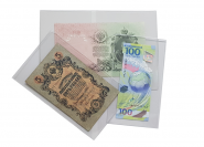 Холдеры для банкнот твёрдый для переноски 155*230 мм КАЧЕСТВО!