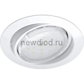 Светильник встраиваемый GX53R-RT-W металл под лампу GX53 230B поворотный белый IN HOME