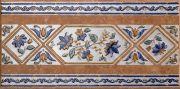 Mariola Ocre Cenefa Бордюр 16,5x33,3