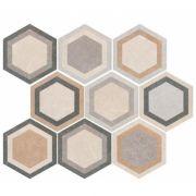 Traffic Combi HEX 25 плитка напольная 25х22 (микс разных рисунков в 1 коробке)