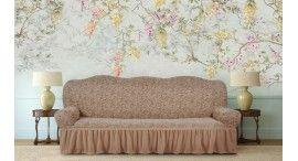 Чехлы на диван с оборкой
