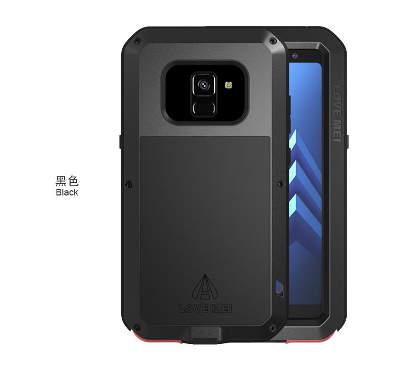 Антивандальный чехол LOVE MEI POWERFUL для Samsung Galaxy A8 2018 SM-A530F
