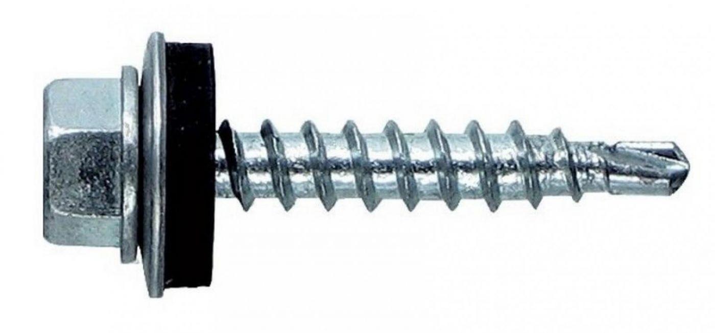 Саморезы оцинкованные 5,5*19  ROOFRetail (100 шт.)
