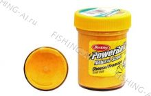 Форелевая паста Berkley PowerBait Natural Scent Trout Bait Cheese Fluo Orange Сыр