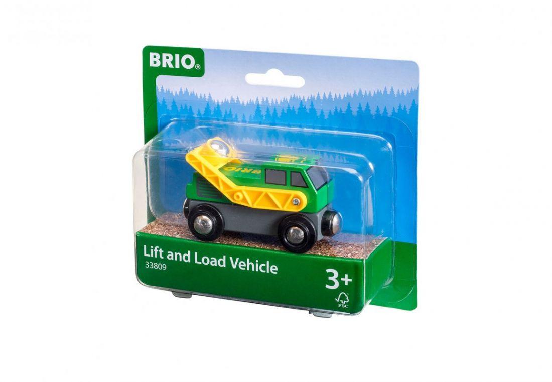 BRIO Погрузчик с вращением на магнитах