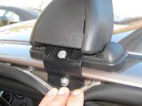 Багажник на крышу Nissan Qashqai (5-dr CUV 2007-13), Lux, аэродинамические дуги 53 мм