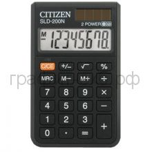 Калькулятор Citizen SLD-200N 8р.