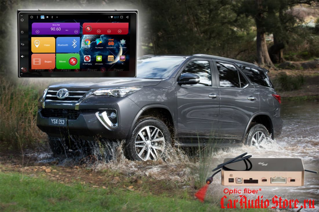 Toyota Corolla 2017+, Fortuner, 2017+ Redpower 31069 IPS DSP ANDROID 7