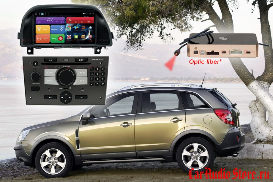 Opel Antara H Redpower 31119 IPS DSP ANDROID 7