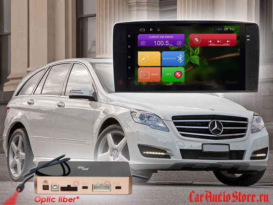 Mercedes Benz (R) RedPower 31169 IPS DSP ANDROID 7