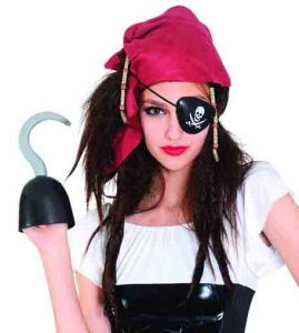Парик Пиратки с банданой