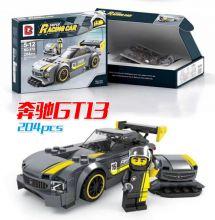 Конструктор Лего автомобиль Speed Champions Мерседес GT3 203 деталей