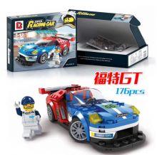 Конструктор Лего автомобиль Speed Champions Форд GT  176 деталей