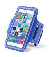 Спортивный чехол для телефона на руку (синий)