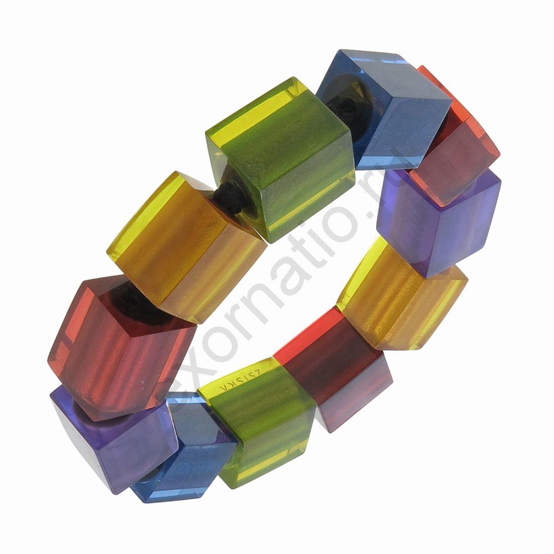 Браслет Zsiska 60103050499Q10. Коллекция Colorful Cubes
