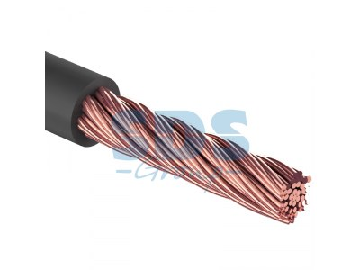 Кабель силовой  ''Power Cable'' 1х10мм?, черный, 50м., d 7,5 мм.  REXANT, 01-7022