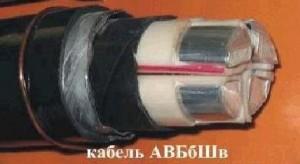 Кабель АВБбШв 4х150мж силовой алюмин. бронир. дв. изол. ПВХ 1кВ