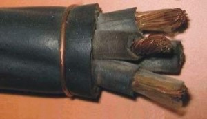Кабель КГтп-ХЛ 3х6+1х4 (ГОСТ) силовой медный гибкий дв. изоляция резина от -60 до +50°С 660В