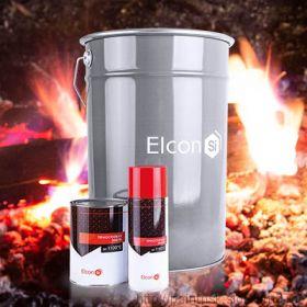 Термостойкая эмаль Elcon Аэрозоль черная 520 мл.