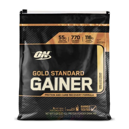 Гейнер ON Gold Standard Gainer 5lb (2.27кг) (Ванильный вкус)