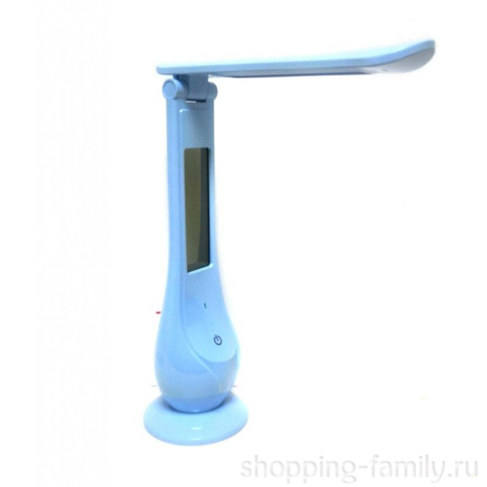 Настольная светодиодная лампа Led Calendar Table Lamp, Цвет Голубой