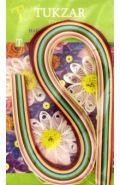 Набор цветных бумажных полосок для квиллинга, 120 штук (арт. TZ 12850)