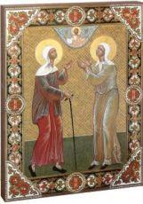 Икона Матрона Московская и Ксения Петербургская