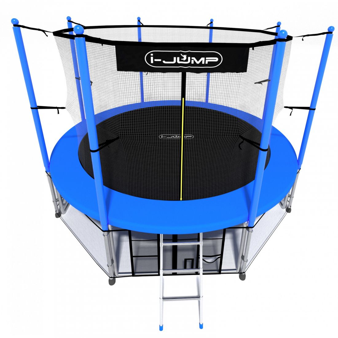 Батут i-Jump 8ft blue